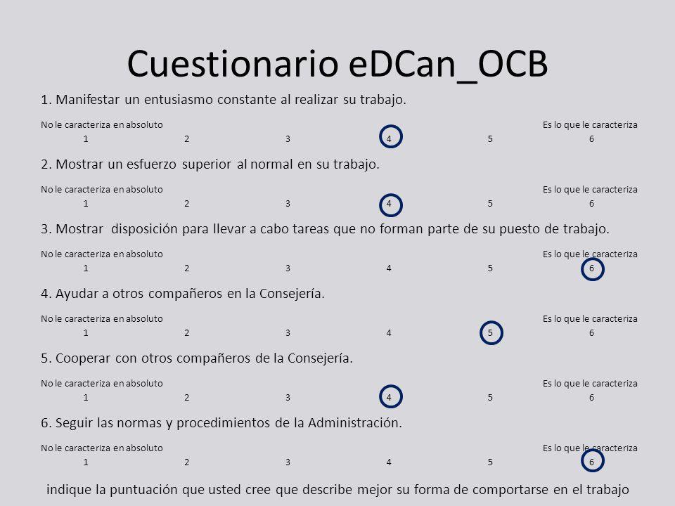 Cuestionario eDCan_OCB