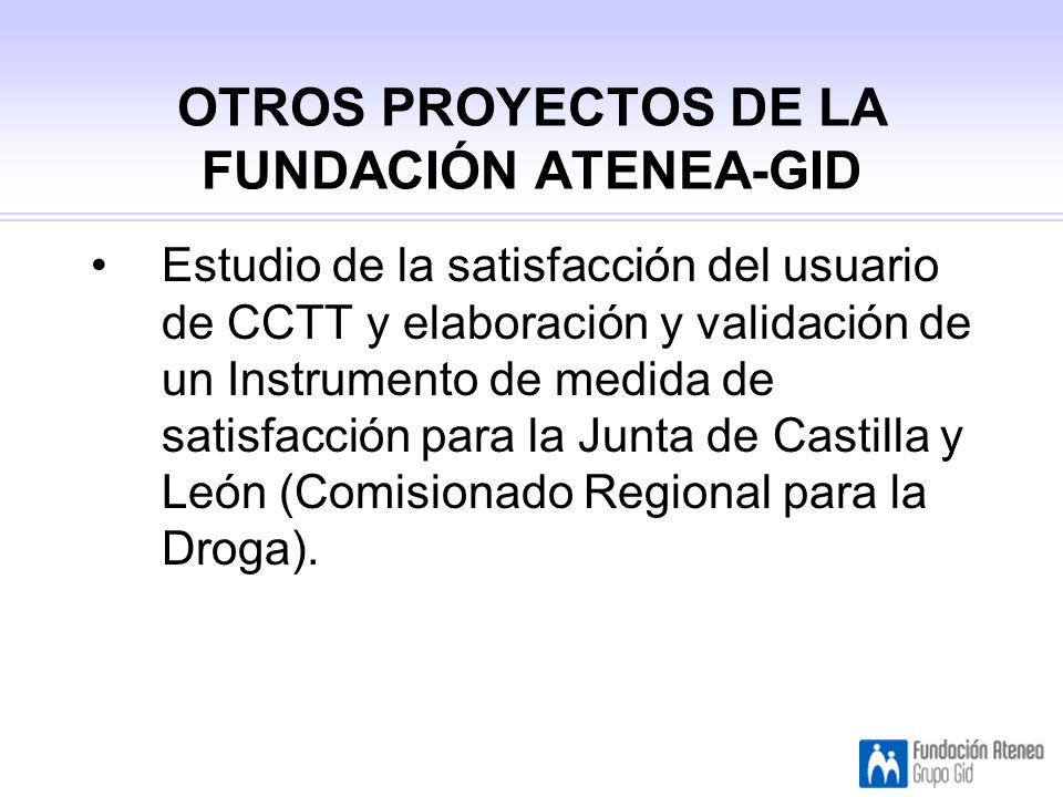 OTROS PROYECTOS DE LA FUNDACIÓN ATENEA-GID