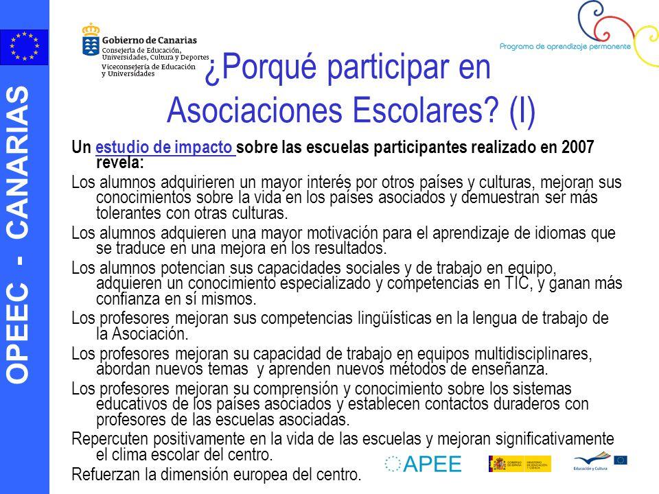 ¿Porqué participar en Asociaciones Escolares (I)