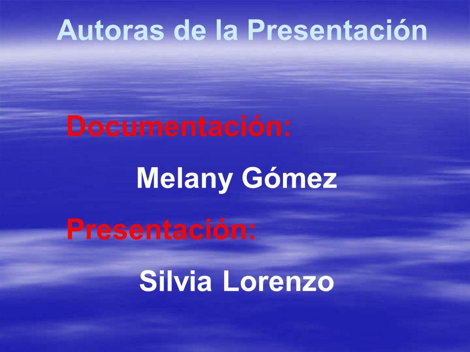 Autoras de la Presentación