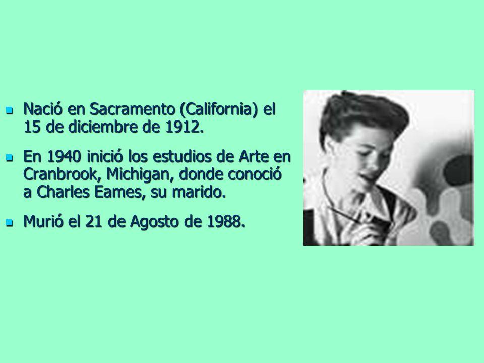 Nació en Sacramento (California) el 15 de diciembre de 1912.