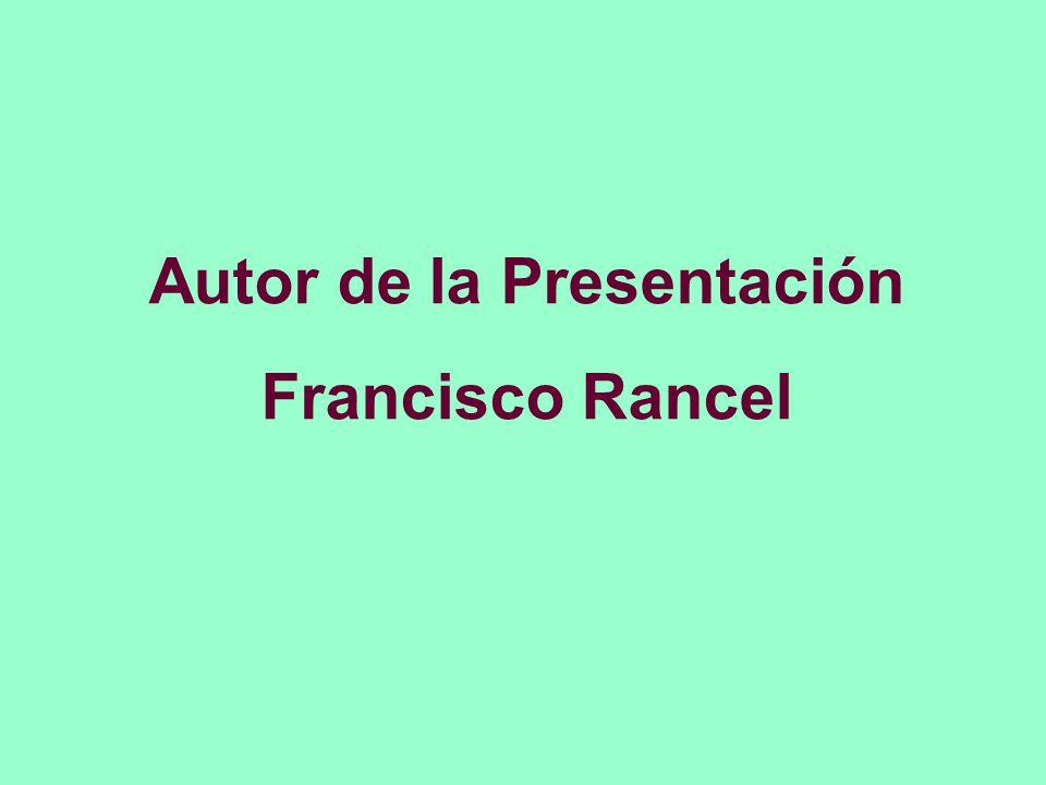 Autor de la Presentación