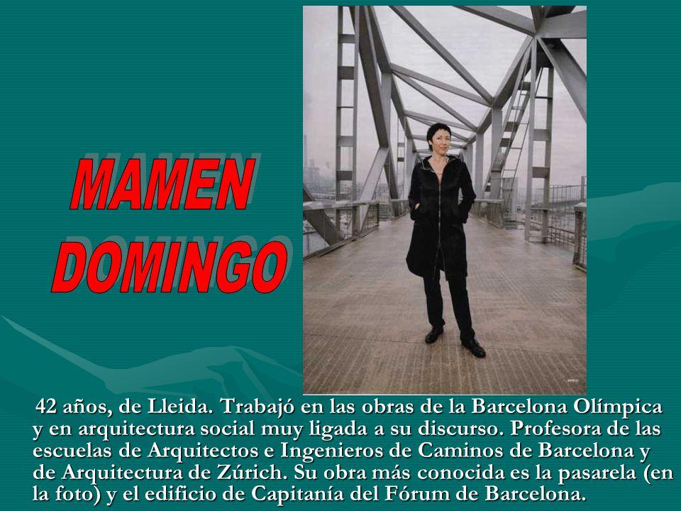 Mujeres y arte arquitectura ppt descargar - Escuela de arquitectura de barcelona ...