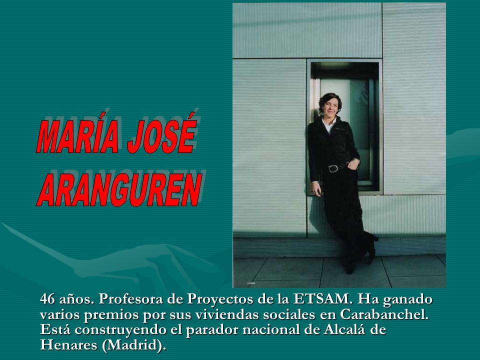 MARÍA JOSÉ ARANGUREN.