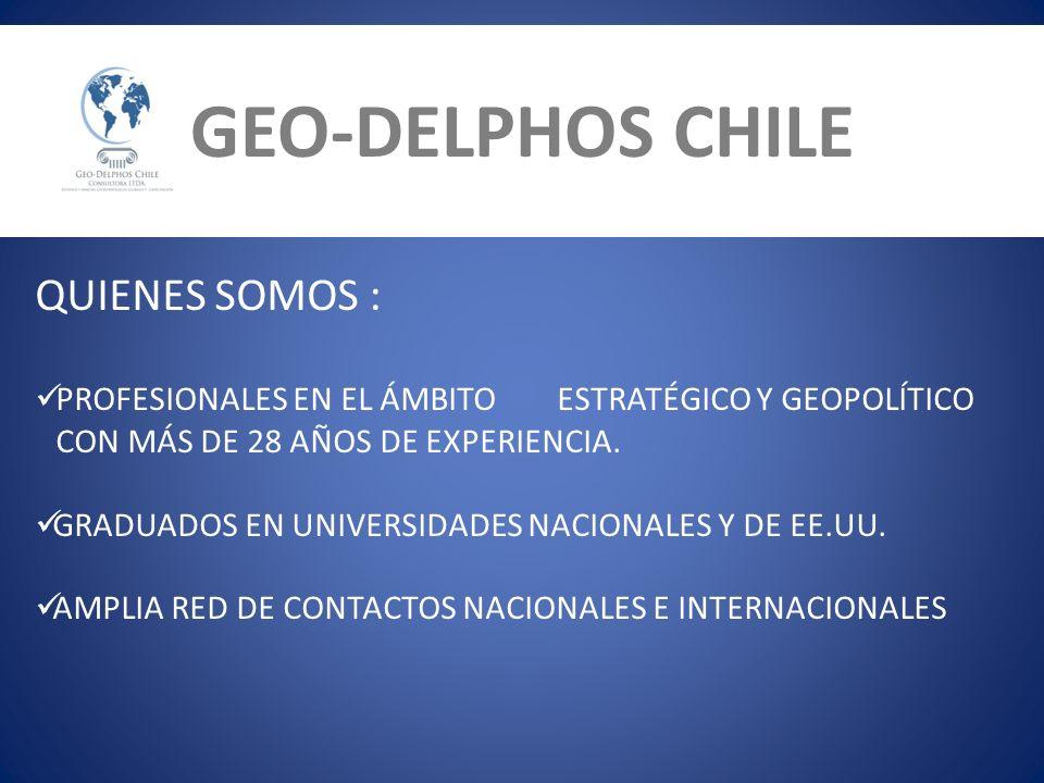 GEO-DELPHOS CHILE QUIENES SOMOS: QUIENES SOMOS :