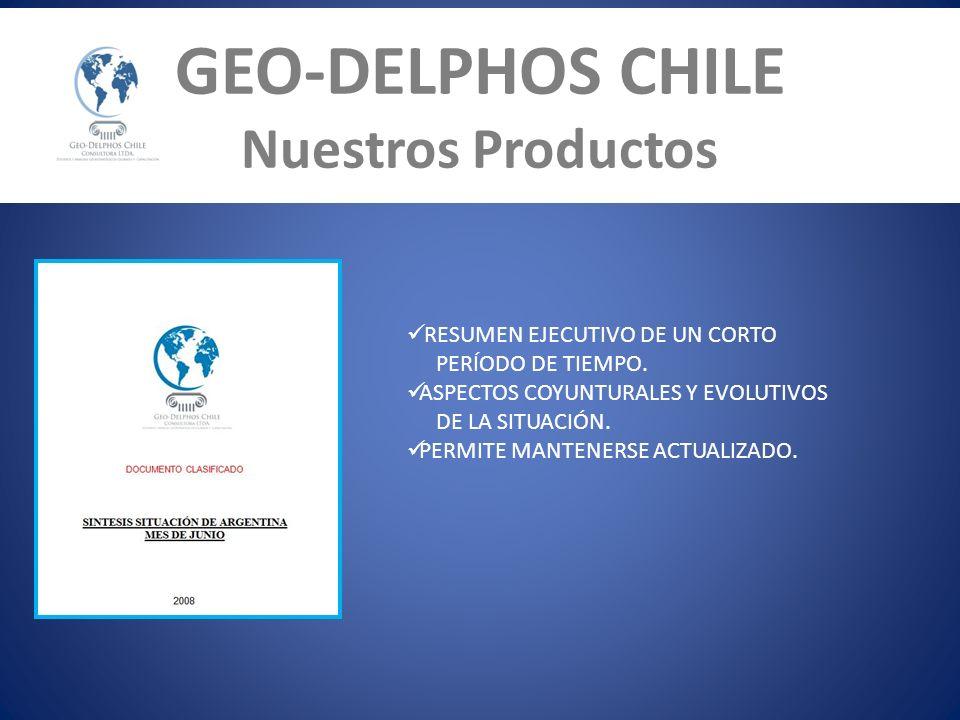 GEO-DELPHOS CHILE Nuestros Productos