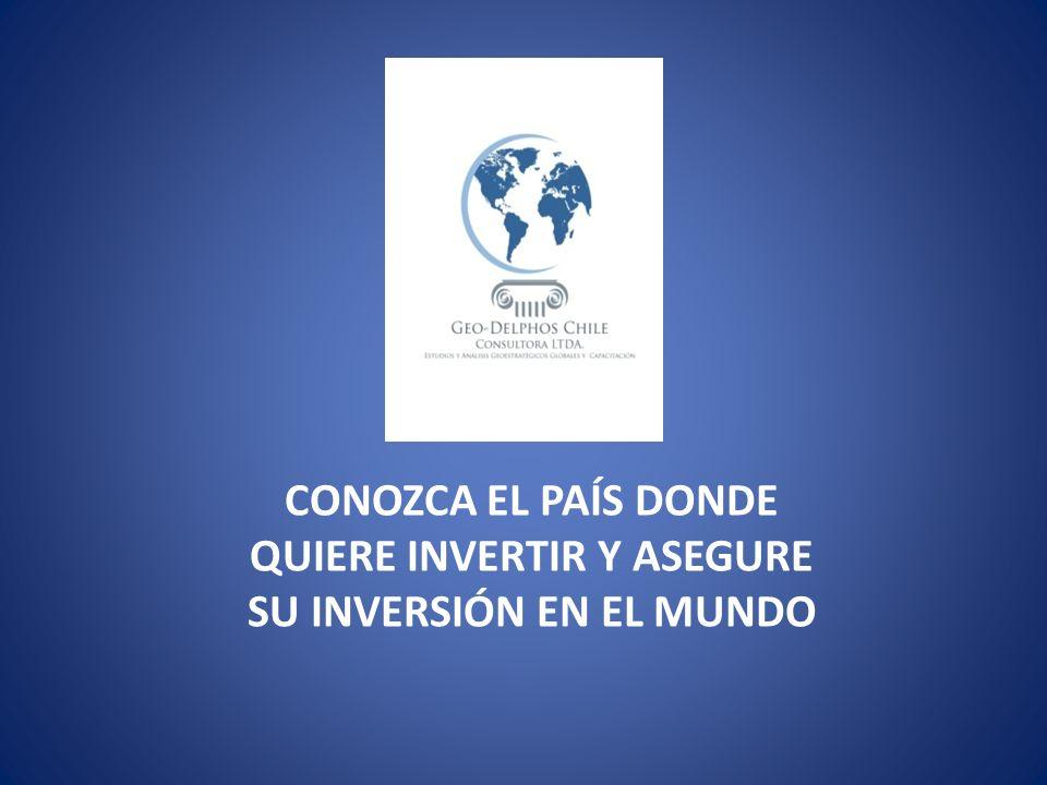 CONOZCA EL PAÍS DONDE QUIERE INVERTIR Y ASEGURE SU INVERSIÓN EN EL MUNDO