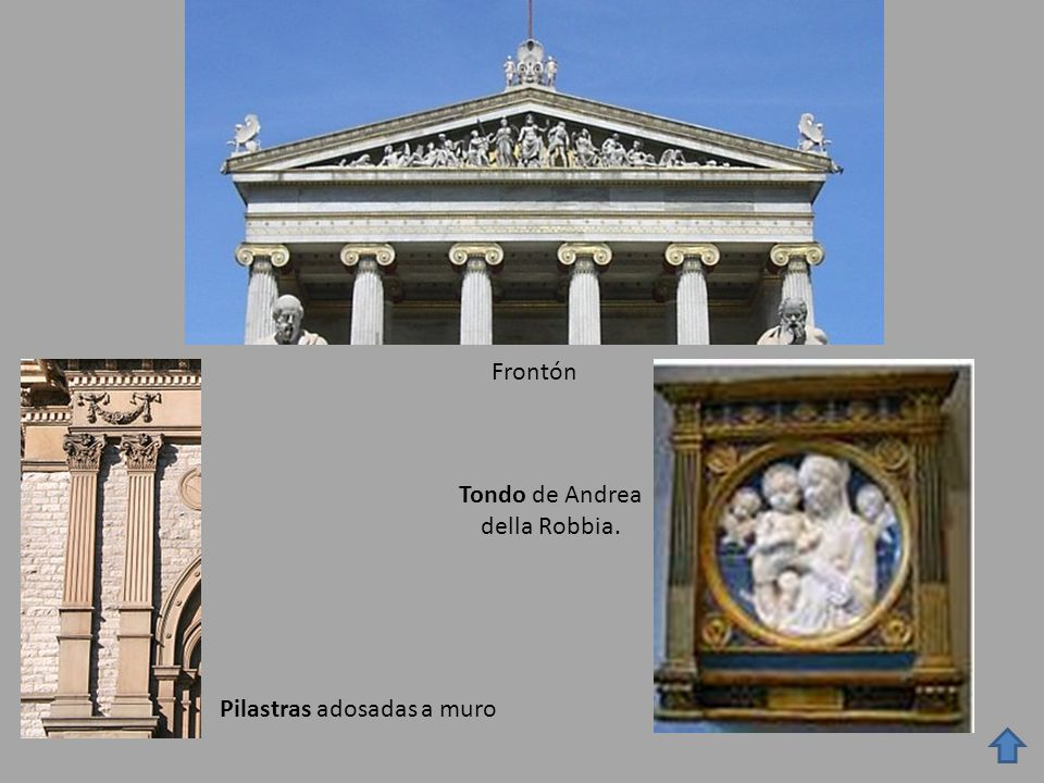 Tondo de Andrea della Robbia.