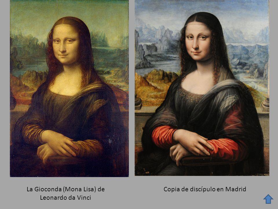 La Gioconda (Mona Lisa) de Leonardo da Vinci