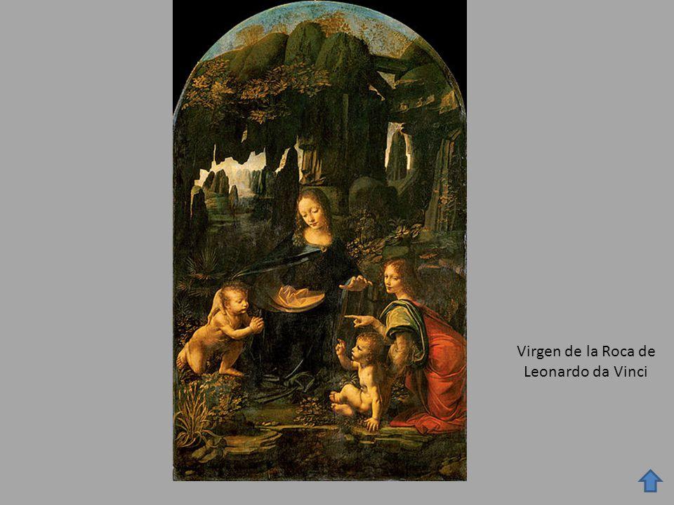 Virgen de la Roca de Leonardo da Vinci