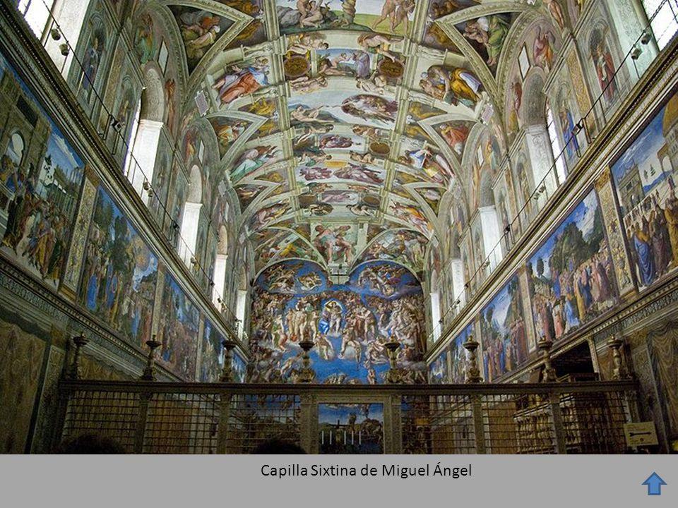 Capilla Sixtina de Miguel Ángel