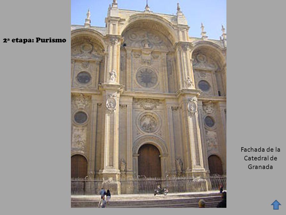 Fachada de la Catedral de Granada