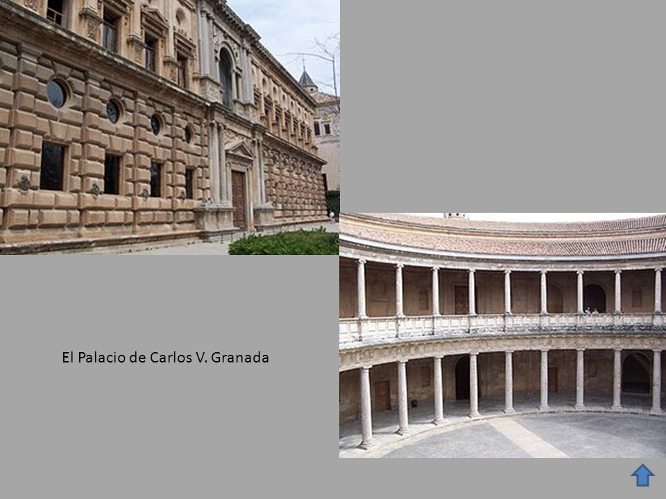 El Palacio de Carlos V. Granada