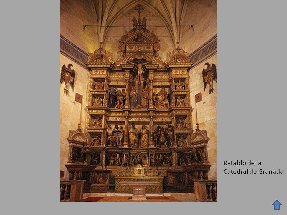 Retablo de la Catedral de Granada
