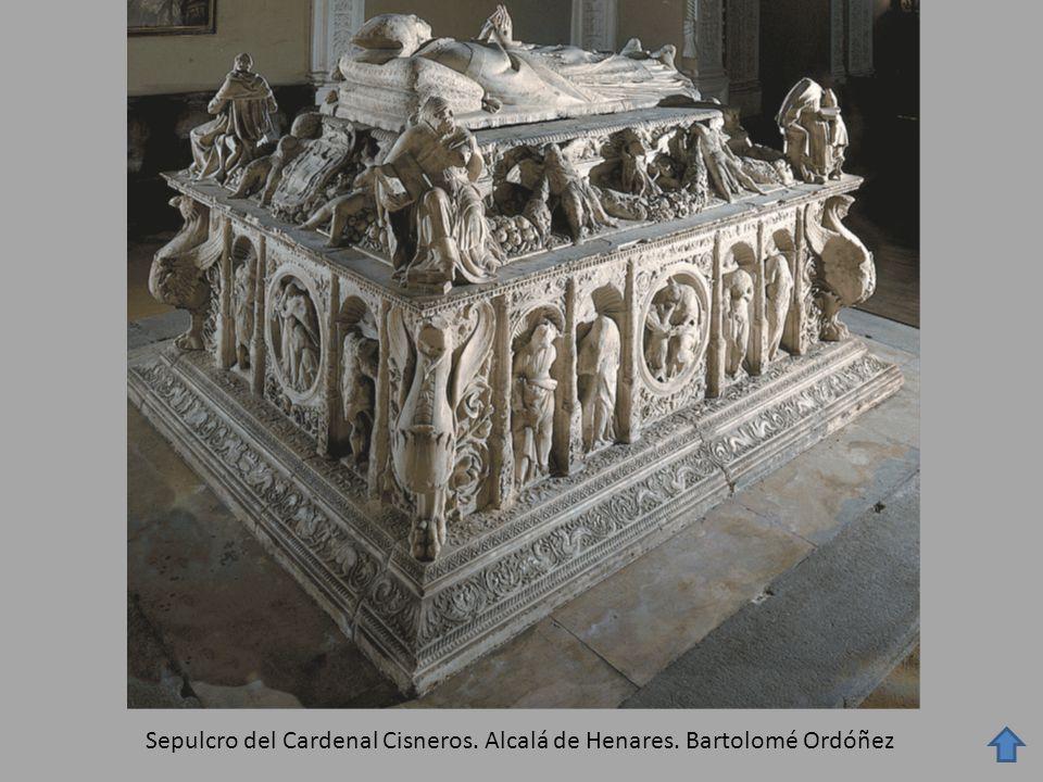 Sepulcro del Cardenal Cisneros. Alcalá de Henares. Bartolomé Ordóñez