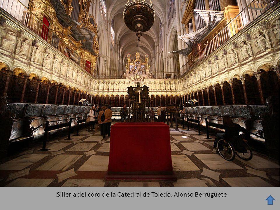 Sillería del coro de la Catedral de Toledo. Alonso Berruguete