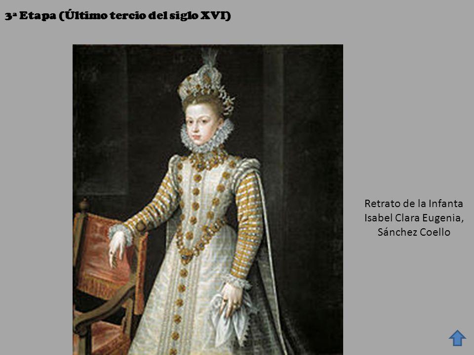 Retrato de la Infanta Isabel Clara Eugenia, Sánchez Coello