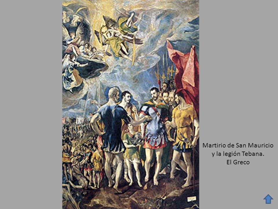 Martirio de San Mauricio y la legión Tebana.