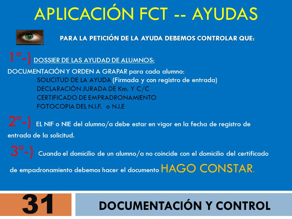DOCUMENTACIÓN Y CONTROL