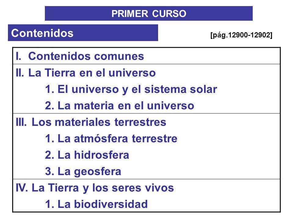 II. La Tierra en el universo 1. El universo y el sistema solar