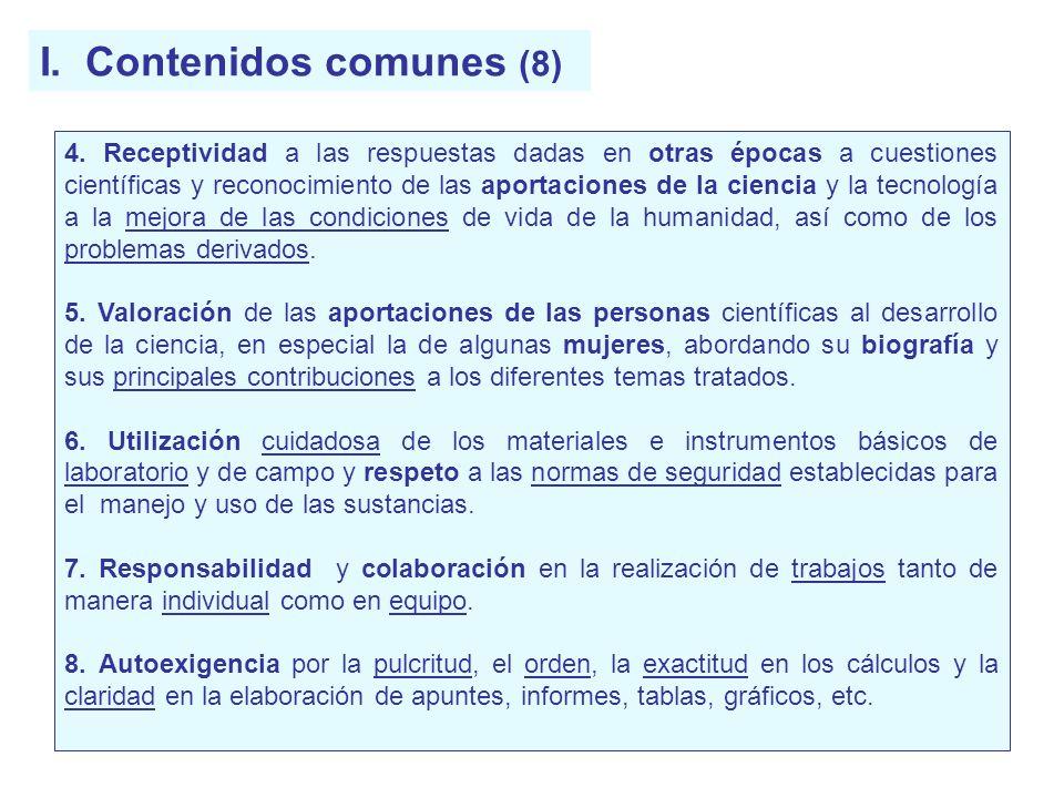 I. Contenidos comunes (8)
