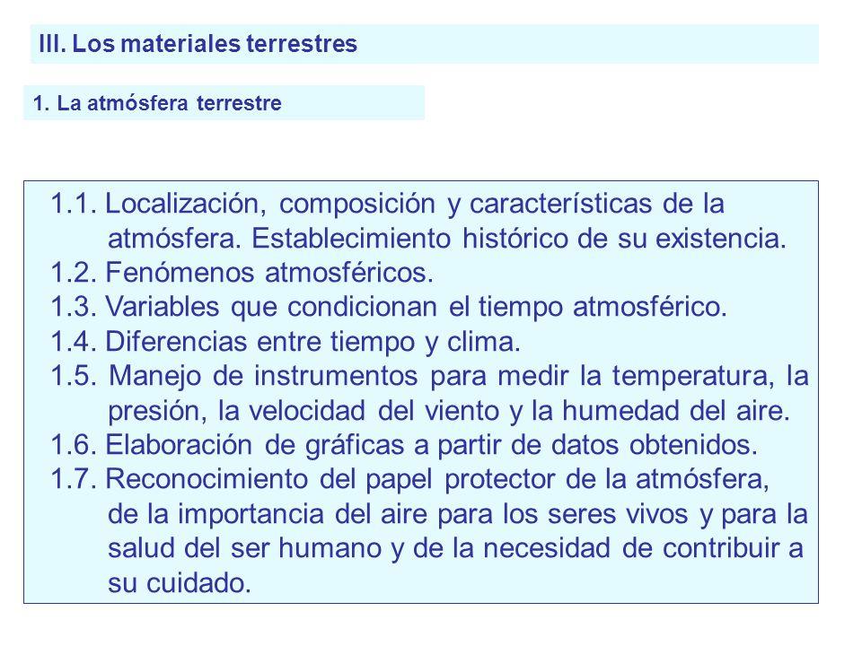 1.2. Fenómenos atmosféricos.