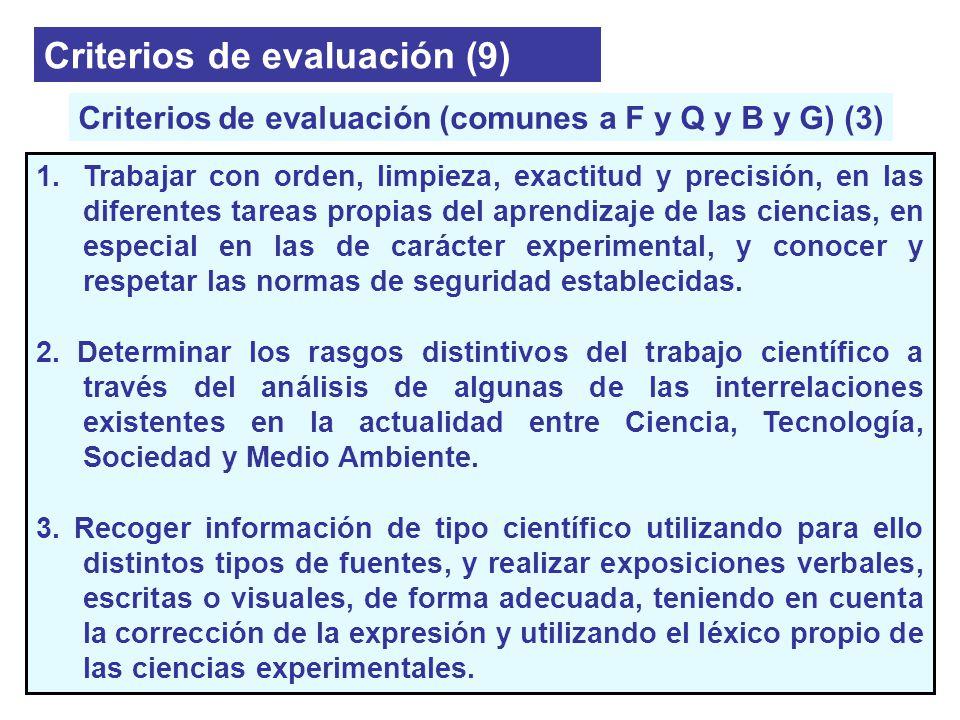 Criterios de evaluación (comunes a F y Q y B y G) (3)