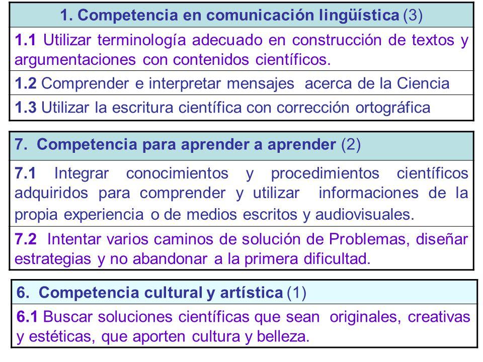 1. Competencia en comunicación lingüística (3)
