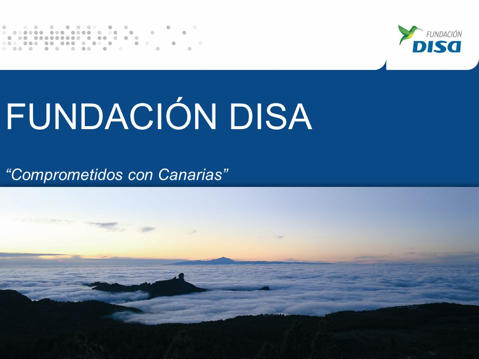 FUNDACIÓN DISA Comprometidos con Canarias