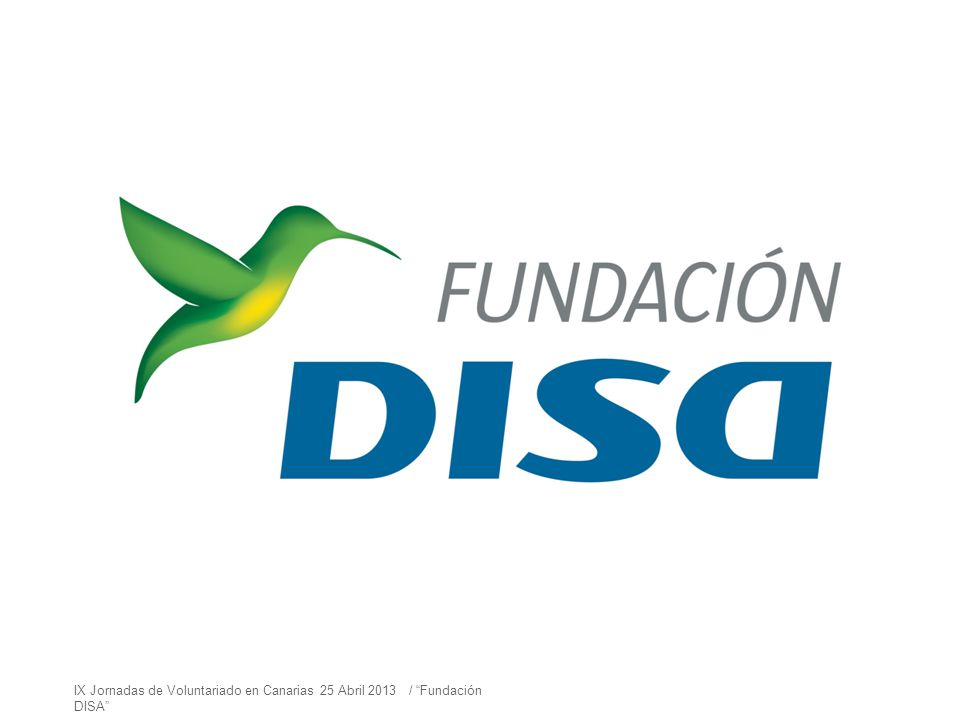 Y hace dos años, el Grupo DISA decide constituir la Fundación DISA con una MISIÓN muy clara: