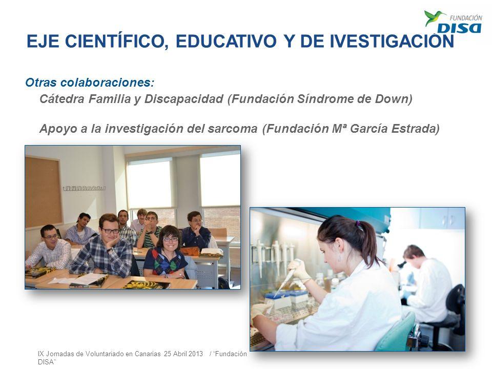 EJE CIENTÍFICO, EDUCATIVO Y DE IVESTIGACIÓN
