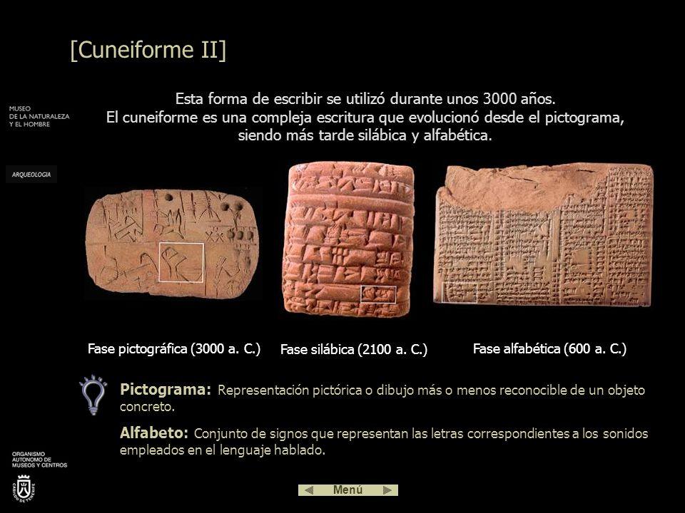 Fase pictográfica (3000 a. C.)
