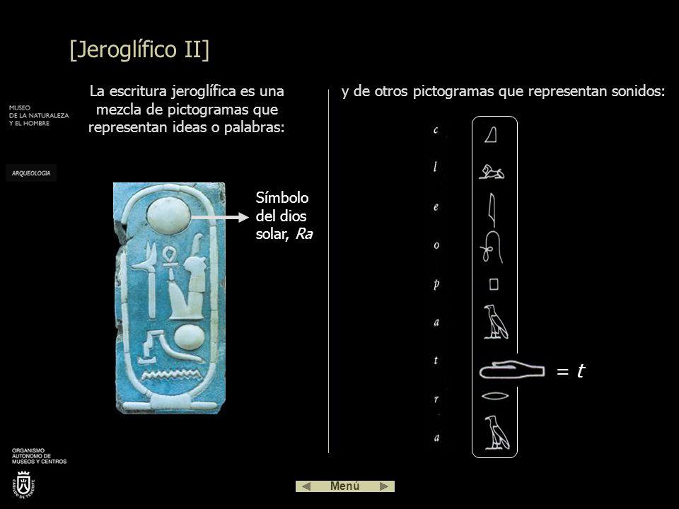 y de otros pictogramas que representan sonidos: