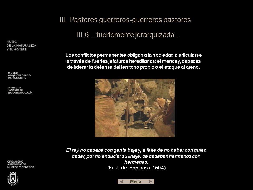 III. Pastores guerreros-guerreros pastores III. 6