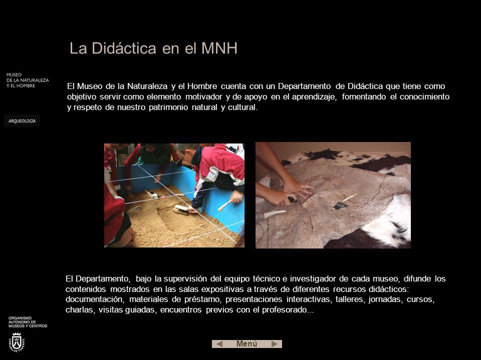 La Didáctica en el MNH