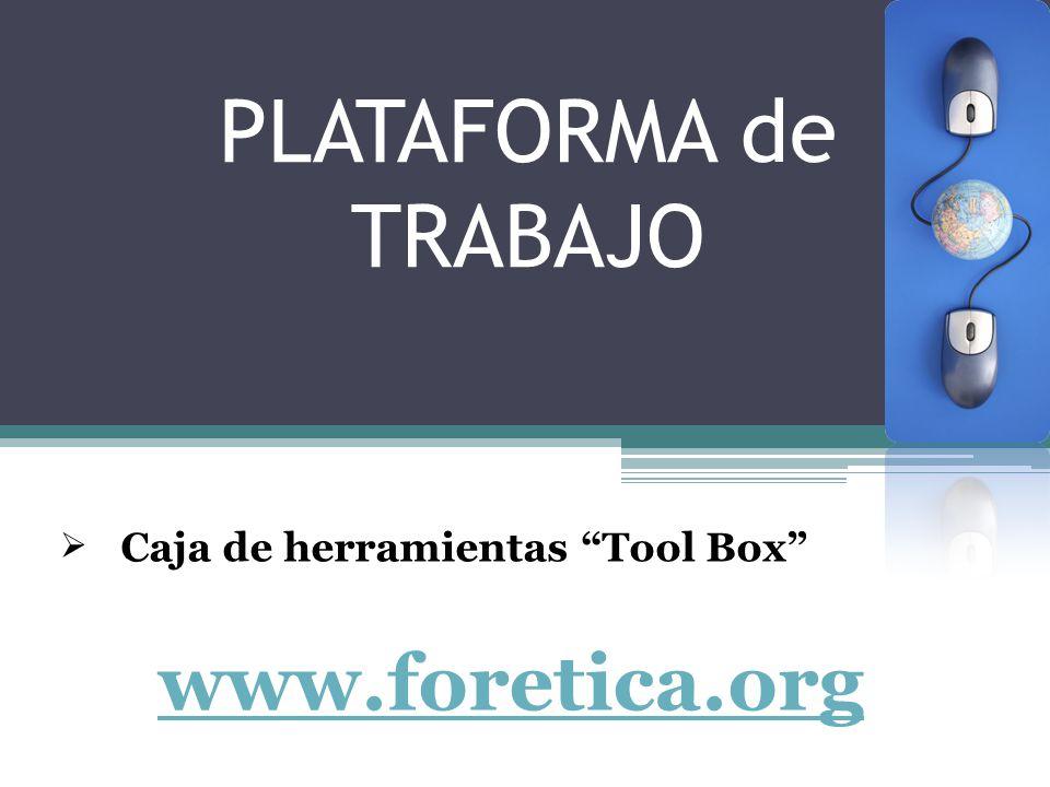 Caja de herramientas Tool Box