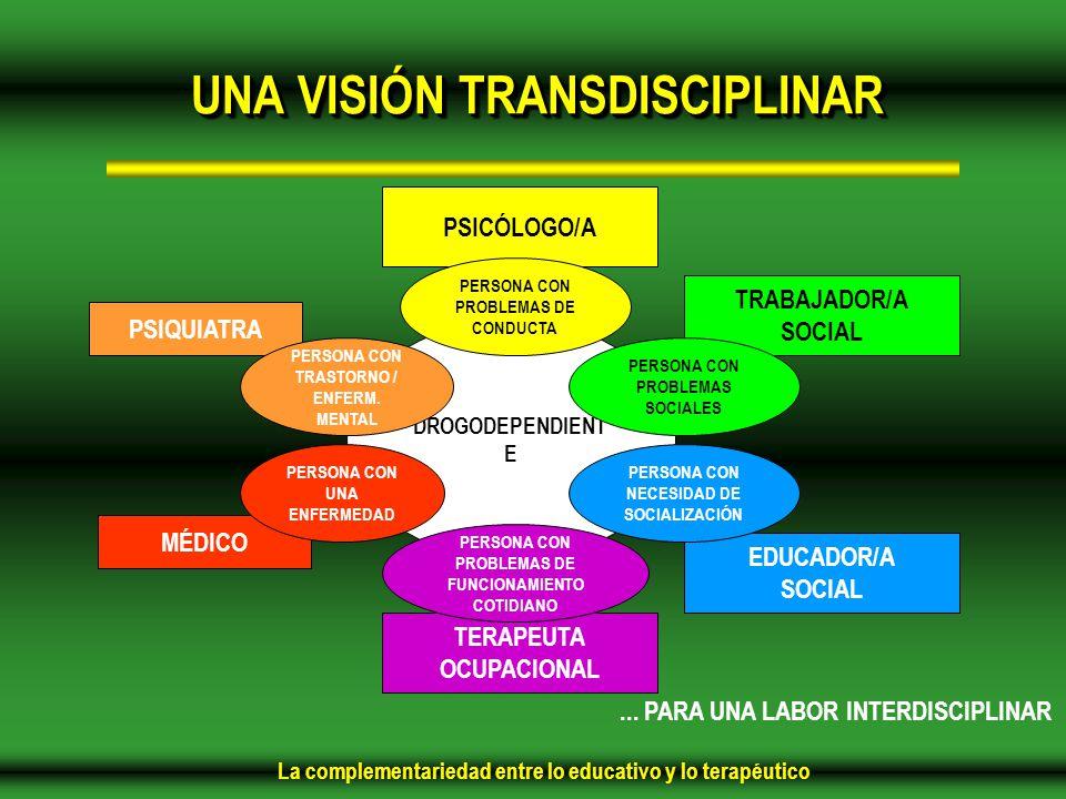 UNA VISIÓN TRANSDISCIPLINAR
