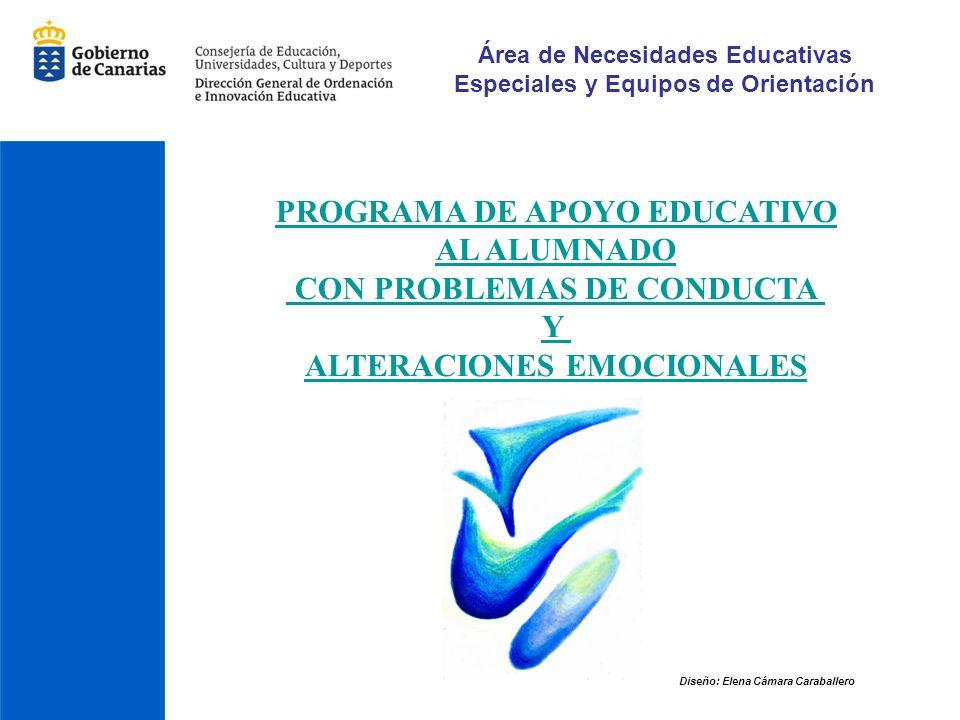 PROGRAMA DE APOYO EDUCATIVO AL ALUMNADO CON PROBLEMAS DE CONDUCTA Y