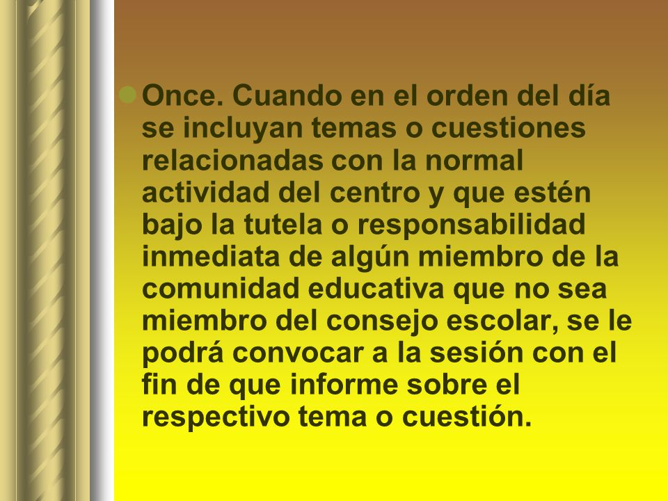 Once.