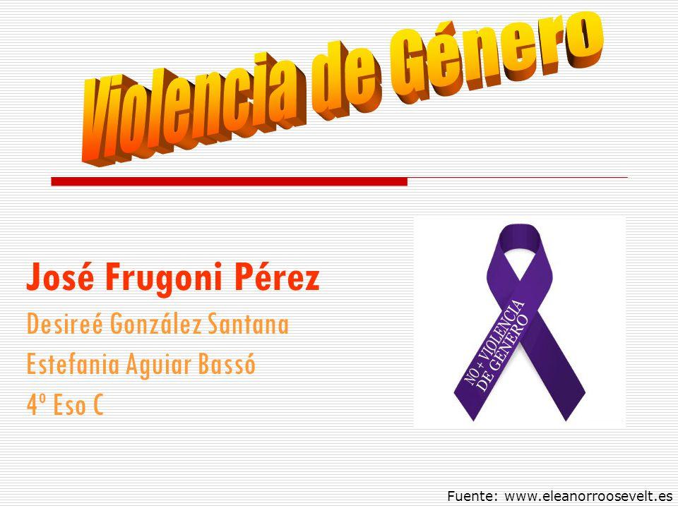 José Frugoni Pérez Violencia de Género Desireé González Santana