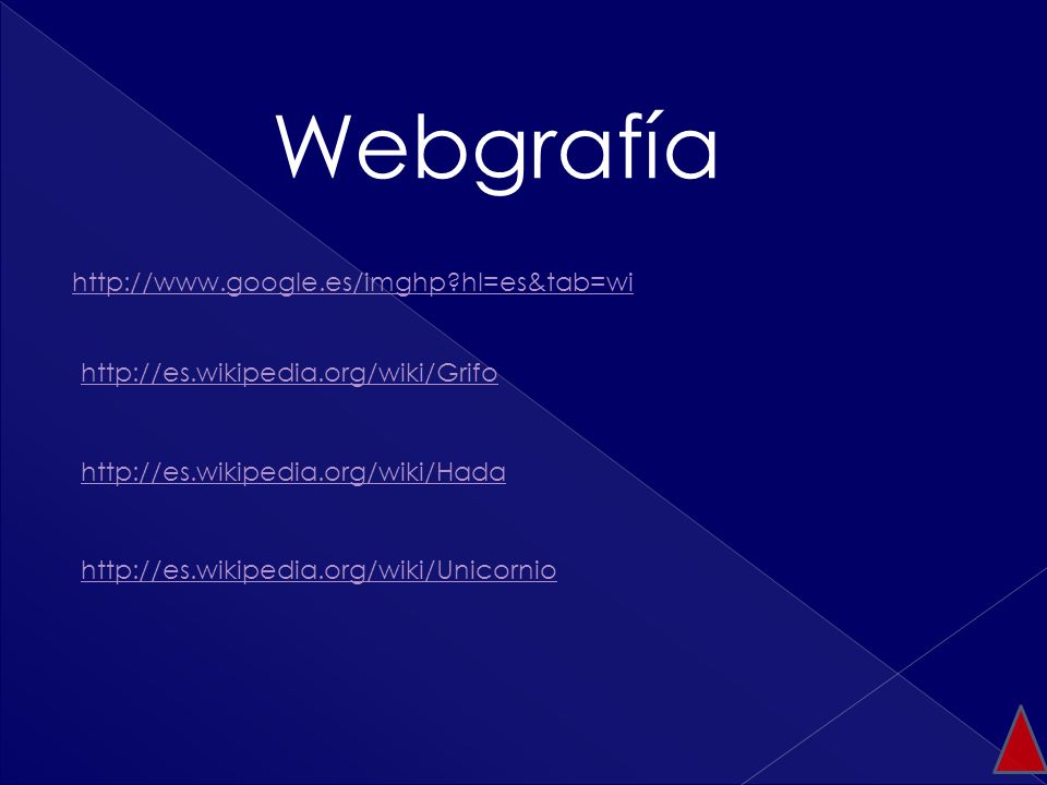 Webgrafía http://www.google.es/imghp hl=es&tab=wi