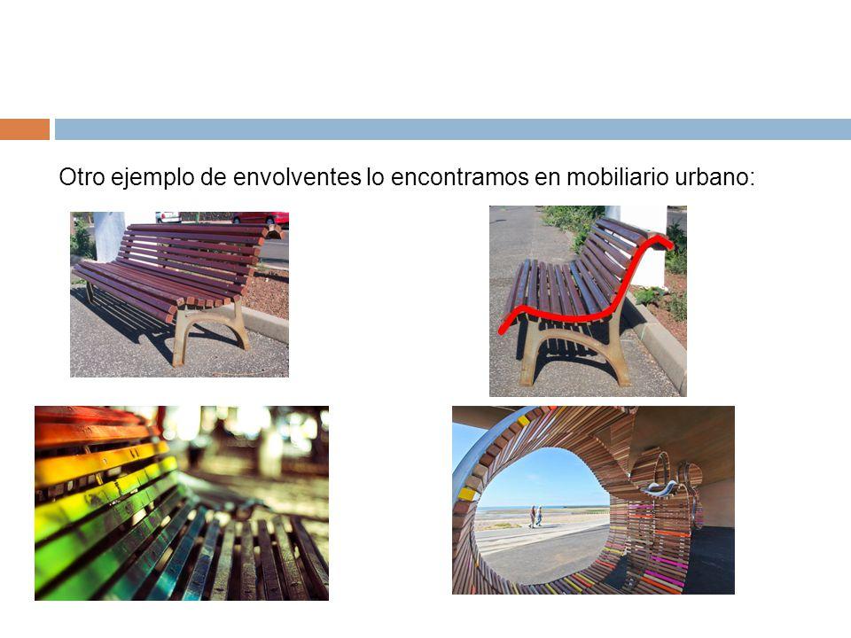 Envolventes y sucesiones ppt descargar for Ejemplos de mobiliario urbano