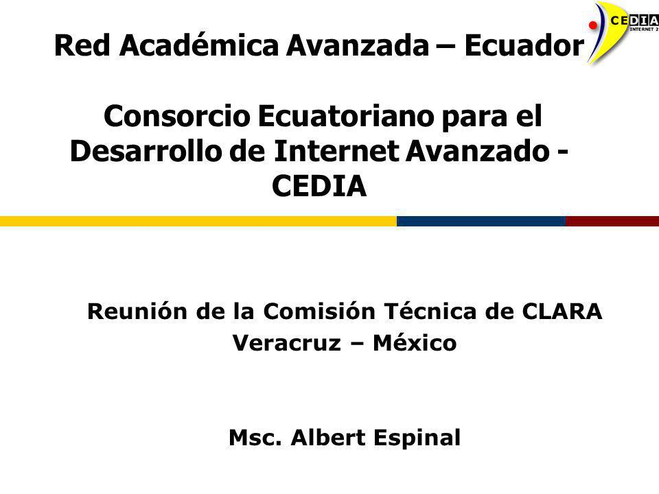 Reunión de la Comisión Técnica de CLARA