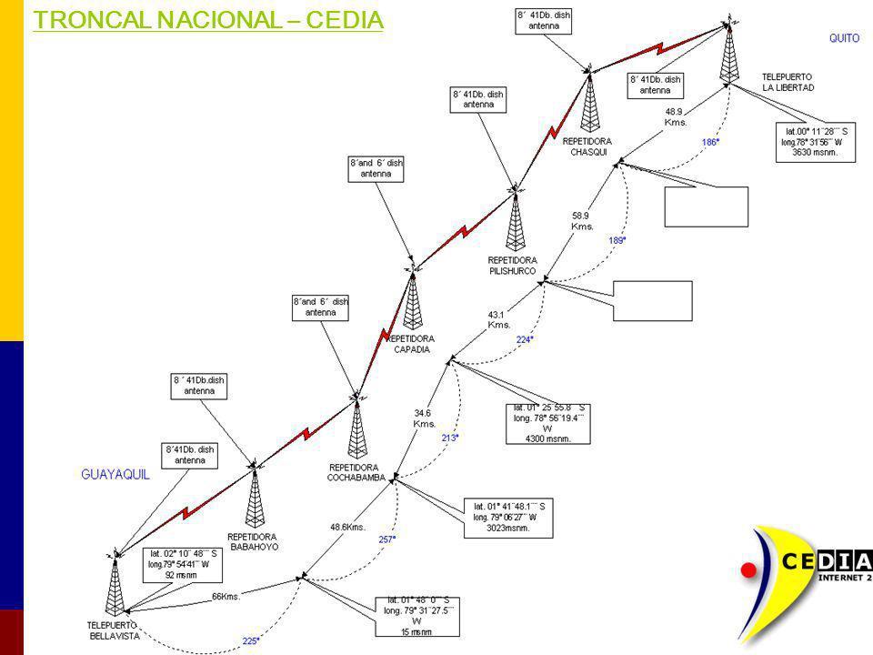TRONCAL NACIONAL – CEDIA