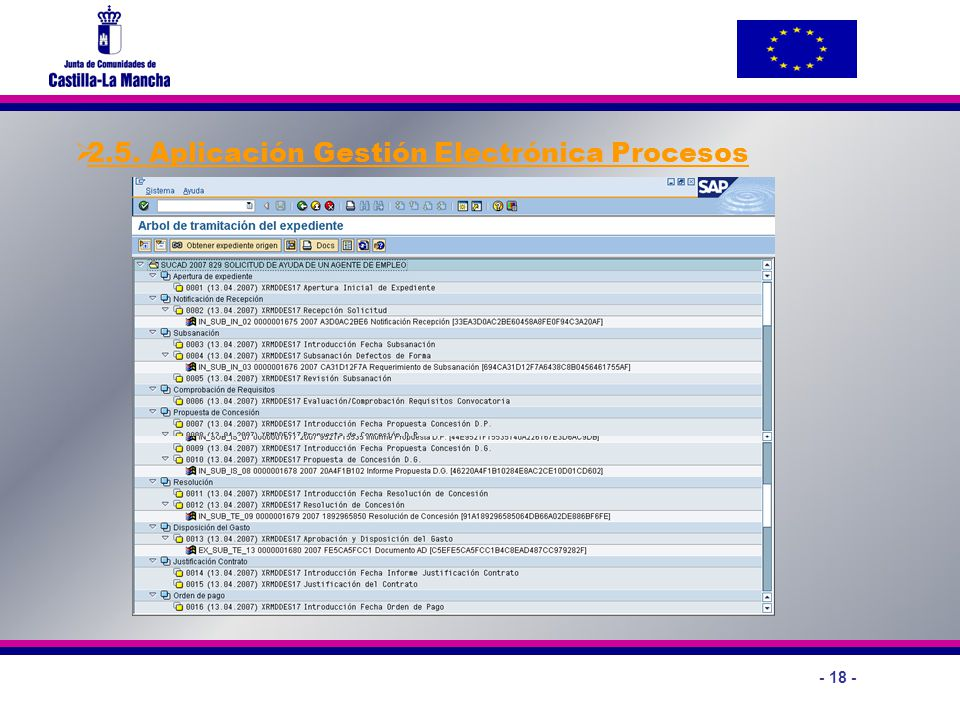 2.5. Aplicación Gestión Electrónica Procesos