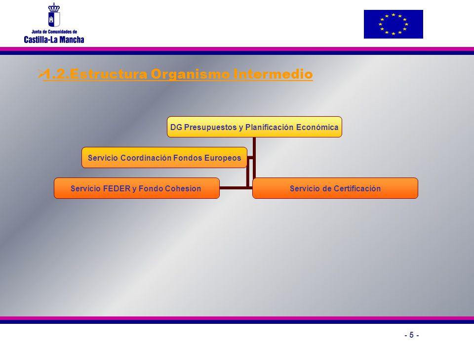 1.2.Estructura Organismo Intermedio