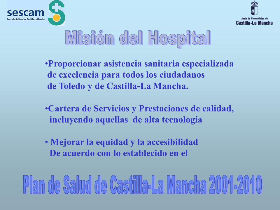 Plan de Salud de Castilla-La Mancha 2001-2010