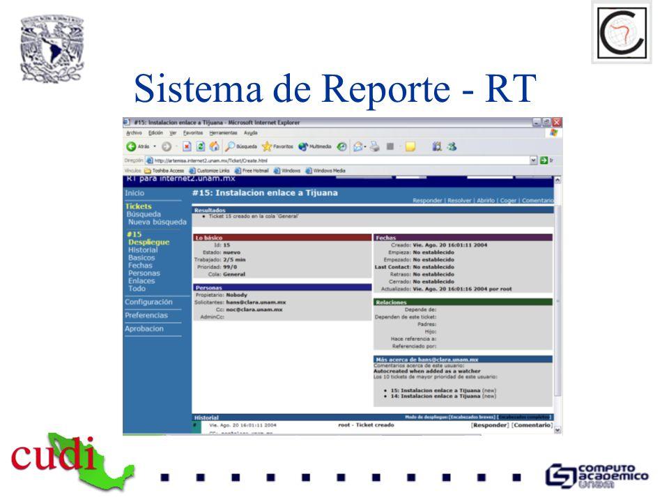 Sistema de Reporte - RT