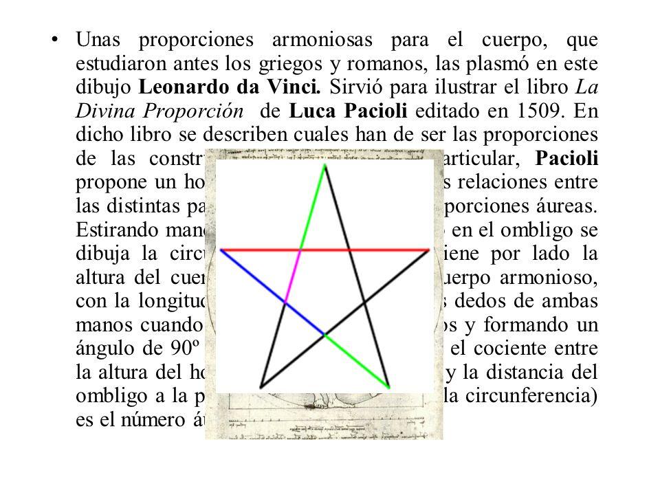 Unas proporciones armoniosas para el cuerpo, que estudiaron antes los griegos y romanos, las plasmó en este dibujo Leonardo da Vinci.