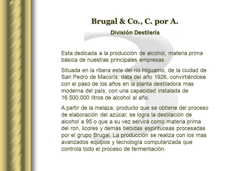 Brugal & Co., C. por A. División Destilería